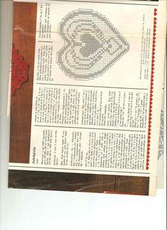 Hæklet juledækkeserviet Filet Crochet, Crochet Doilies, Knit Crochet, Drops Design, Crotchet, Xmas, Christmas, Crochet Patterns, Ornament