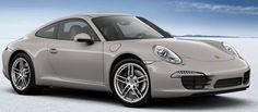 Porsche 911 Carrera Platinum Silver Exterior