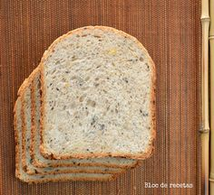 Pan de espelta integral con semillas y buttermilk en panificadora