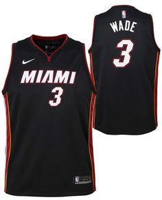 Nike Dwyane Wade Miami Heat Icon Swingman Jersey 8ba7f686b