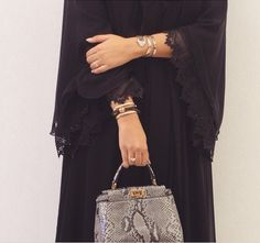 Arab Swag   Nuriyah O. Martinez   Abaya Hijab Style Dress, Hijab Chic, Hijab Outfit, Abaya Style, Abaya Fashion, Muslim Fashion, Modest Fashion, Burqa Designs, Abaya Designs