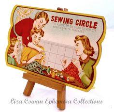 Sewing Circle needle pack. Liza cowan Ephemera Collections via Flickr