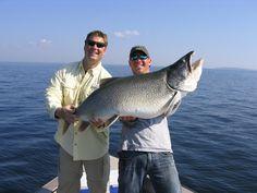 #Fishing at Wollaston Lake Lodge in Northern #Saskatchewan, Canada.