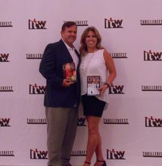 Mike and Kim at Thrillerfest in NYC Book News, New Books, Product Launch, Nyc, Celebrities, Celebs, Celebrity, New York, Famous People