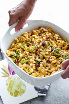 Lightened-Up Butternut Squash Mac & Cheese!