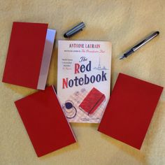 @meandmybigmouth @bookshopblogger @gallicbooks We've made little red notebooks to give out with our new favourite!