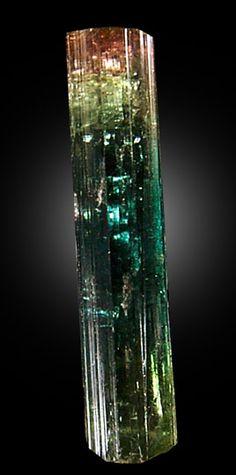 Elbaite Tourmaline from Itatiaia District, Minas Gerais, Brazil