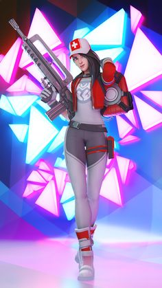 Lead Medicine - A Fortnite Remedy Render by WastingNight on DeviantArt Best Gaming Wallpapers, Hd Cool Wallpapers, Fan Art, Game Wallpaper Iphone, Girl Wallpaper, Mighty Power Rangers, Skin Images, Gamer Pics, Epic Games Fortnite
