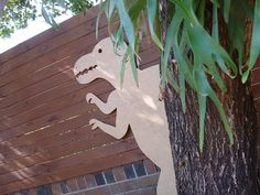A dinosaur themed birthday party with lots of homemade details that would make any little boy roar (in a good way).