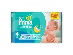 Prima Bebek Bezi Aktif Bebek Mega Paket 4 Beden