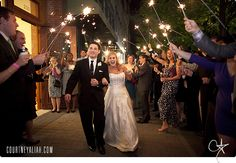 Wedding Exit - Courtney Aliah Photography