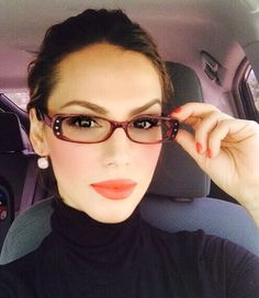 "Eyeglasses Women ""Sexy Teacher"" Clear Lenses Specs Rhinestones Spectacles #VassFashion"
