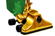 $1,000,000 Gold-Plated Vacuum Cleaner Model GV62711 UPC 60893974724