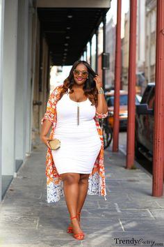 #slimmingbodyshapers Rock this dress with plus size shapewear  slimmingbodyshapers.com   TrendyCurvy Travels: New Orleans | Plus Size Fashion