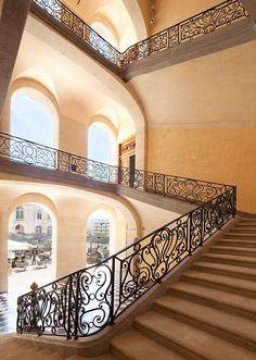 Reconversion hôtelière de l'Hôtel-Dieu - Cage d'escalier