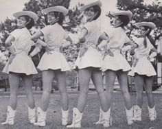 1962-1963 World Famous Kilgore College Rangerettes <3