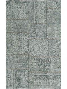 Teppich Vintage Frencie Woodland Hellblau 240x340 cm