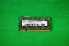 Notebook RAM DDR2 Hynix 512MB 200p PC2-4200 CL4 533MHz HYMP564S64BP6-C4 1,8V