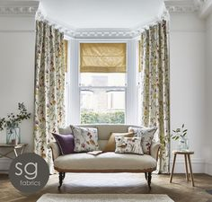 At Elegant Curtains we offer a large range of services in all aspects of curtains, blinds and soft furnishings. We offer a professional curtain make-up service . Curtains Uk, Elegant Curtains, Beautiful Curtains, Curtains With Blinds, Curtain Fabric, Roman Blinds, Small Living Rooms, Living Room Modern, Curtain Inspiration