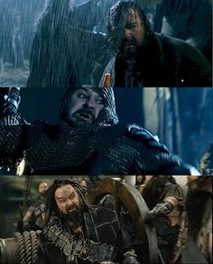 Peter Jackson's cameos in the LOTR movies.