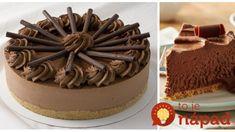 Žiaden cukor, žiadne pečenie a chuť absolútne dokonalá: Tento rýchly zákusok z vás urobí hviezdu každej oslavy – recept hodný metálu!! Cheesecake, Ham, Cakes, Desserts, Food, Tailgate Desserts, Meal, Cheese Cakes, Cake