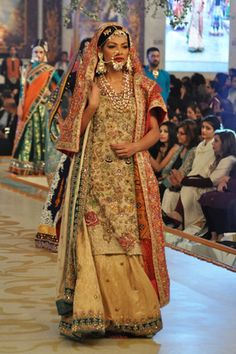 #pantenebridalcoutureweek2013 #bridalcouture Complete Collection - Photo 25: 2013 PBCW Ali Xeeshan Collection,