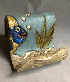 Hey, I found this really awesome Etsy listing at https://www.etsy.com/listing/150084987/handmade-stoneware-clay-business-card