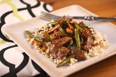 (Sauce is sooo good!) Stir things up for Sunday Dinner: Thai beef stir-fry