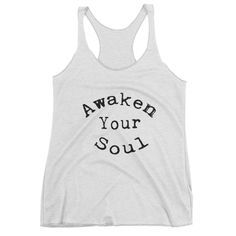 Awaken Your Soul Women's tank top