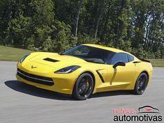 Chevrolet divulga detalhes do Corvette com câmbio de oito marchas