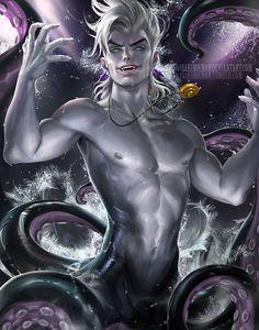 Genderbend Ursula~Sakimi-Chan  (The Little Mermaid)