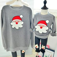 Christmas sweaters family look clothes mother daughter father son pullover sweater girl ensemble garcon roupas infantis menino(China (Mainland)) Funny Christmas Sweaters, Ugly Xmas Sweater, Tacky Christmas, Christmas Shirts, Girls Sweaters, Sweater Outfits, Kids Girls, Pullover Sweaters, Daughter