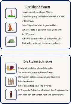 small reading and writing file kleine Lese- und Schreibkartei Study room: small reading and writing file - German Grammar, German Language, School Study Tips, Learn German, Primary Education, Play To Learn, Business Management, Child Development, Kindergarten