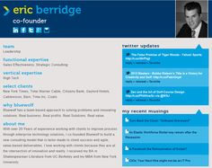 We put our people front and center on our website. With the #GoingSocial campaign, we revamped what we call our Pack Profiles to be more #social and focused around knowledge. Check it out!    http://www.bluewolf.com/people/eric-berridge