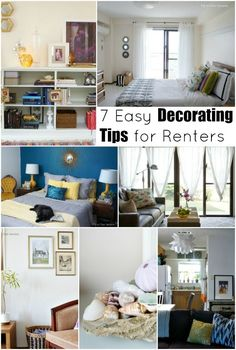 7 Easy Decorating Tips for Renters - Up to Date Interiors