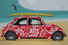 VW graphic art print 5