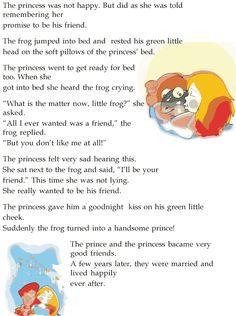 English Stories For Kids, English Story, English Verbs, English Lessons, Learn English, Stories With Moral Lessons, Moral Stories, Reading Lessons, Lessons For Kids