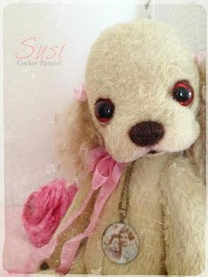 """PDF File For Sewing Pattern Cocker Spaniel """"Susi"""" 9 Inch Not for Beginner by noblefabric on Etsy https://www.etsy.com/listing/130020133/pdf-file-for-sewing-pattern-cocker"""