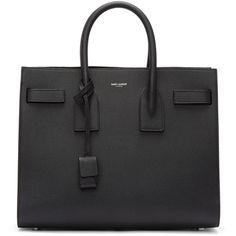 Saint Laurent Black Small Sac De Jour Tote Purse Leather