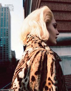 Vogue Japan #backtofall #leopard
