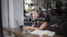 RED Associates // Deep Listening - Disclosing the Unsaid