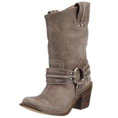 FRYE Women's Carmen Harness Short Boot,Grey - http://womenswinterboots.asiaparent.com/frye-womens-carmen-harness-short-bootgrey/