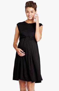 $148.00 - Maternal America 'Empire Cascade' Maternity Dress | Nordstrom