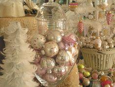 Vintage ornaments galore