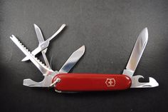 Vintage Victorinox Swiss Army knife- FISHERMAN model circa 1960s VERY NICE! by HobieonEtsy on Etsy