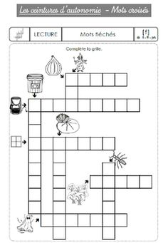 Blasons d'autonomie Cycle 2, Teaching French, Crossword, Coat Of Arms, Teaching, Management, Reading, Crossword Puzzles, Teaching French Immersion