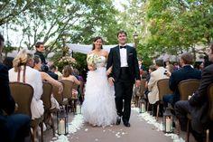 Elegant outdoor wedding from rusticweddingchic.com