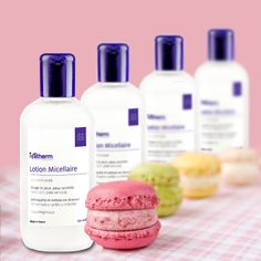 Makeup removal and cleansing - Ivatherm - Herculane Thermal Water Beauty Corner, Makeup Remover, Pretty Hairstyles, Macarons, Sensitive Skin, Make Up, Cosmetics, Cleanser, Face