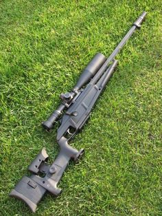 Blaser R93 LRS2 Sniper Rifle - Straight Pull... definitely different. Had a problem with the cheek raise and the bolt pull actually making contact, what a shame.