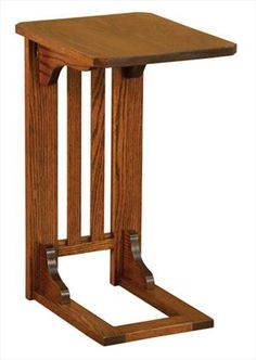 Amish Mission Sofa Server Red Oak or Cherry Hardwood Delivery Included